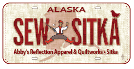 Abby's Reflection Novelty Alaska License Plate